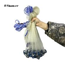American Hand Cast Net Diameter 2.4- 7.2m Fishing 4.2m Network 3m Nets