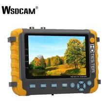 Новый дюймов 5 дюймов TFT ЖК-дисплей HD 5MP TVI AHD CVI CVBS аналоговая камера безопасности тестер монитор в одном CCTV тестер VGA HDMI вход IV8W