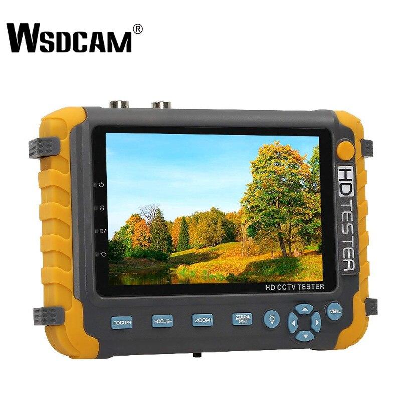 NIEUWE 5 inch TFT LCD HD 5MP TVI AHD CVI CVBS Analoge Security Camera Tester Monitor in Een CCTV Tester VGA HDMI Input IV8W-in CCTV-monitor en -display van Veiligheid en bescherming op AliExpress - 11.11_Dubbel 11Vrijgezellendag 1