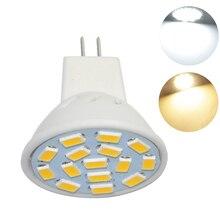 1PCS MR11 Led Lamp SMD 5730 15leds Bulb Light Mini Spotlight Home Decor Lighting 10V-30V