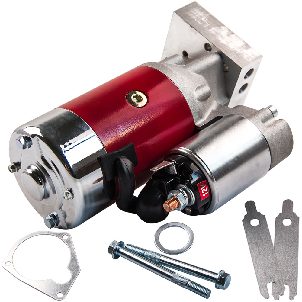 US $83 16 16% OFF|Small & Big Block for CHEVY GM HD Mini Starter Motor 3HP  305 350 454 2 2kw 18493 700HP-in Starters from Automobiles & Motorcycles on
