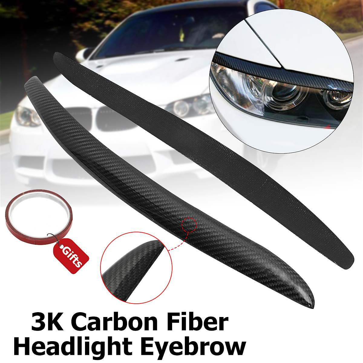1 Pair of Carbon Fiber Side Rear View Mirror Cover Cap for 350Z Z33 2003-2008 Acouto Rearview Mirror Cover