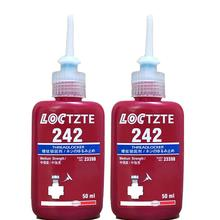 242 50ml Cylindrical Retainer Locking Adhesive Metal Screw Anaerobic Thermal Strength Environment Glue New