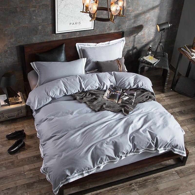 Новый стиль Макияж Ins ветер хлопок семья из четырех текстильных фабрики прямые оптовые листы одеяло крышка 4 Piece Набор постельные принадлежн