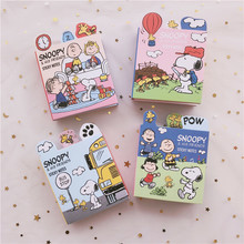 SIXONE 20*6 Pages Puppy Cartoon Six-fold Office Sticky Note Paper Cute Student Kawaii Stationery Notebook Memo Pad