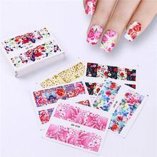 Nail Nail Beauty 28g 48PCS Girl Floral Decorating W