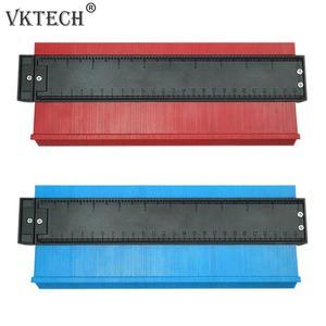 Image 2 - Plastic Irregular Shaper Profile Ruler Gauge Duplicator Contour Scale Template Curvature Scale Tiling Laminate General Tools