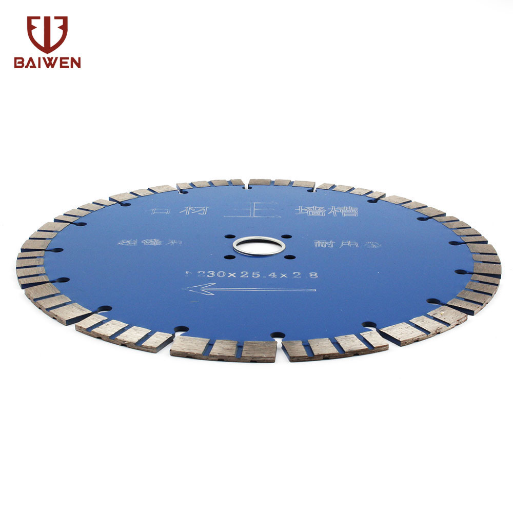 "Image 2 - 9"" 230mm Diamond Saw Blade For Granite Marble Slab Rock Concrete Floor Tile and Masonry Dry Wet Cutting DiscSaw Blades   -"