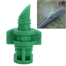 цена на 10pcs/lot 360 Degree sprayer Garden Agriculture Watering Spray lawn sprinker Misting Nozzle Sprinkler Irrigation System