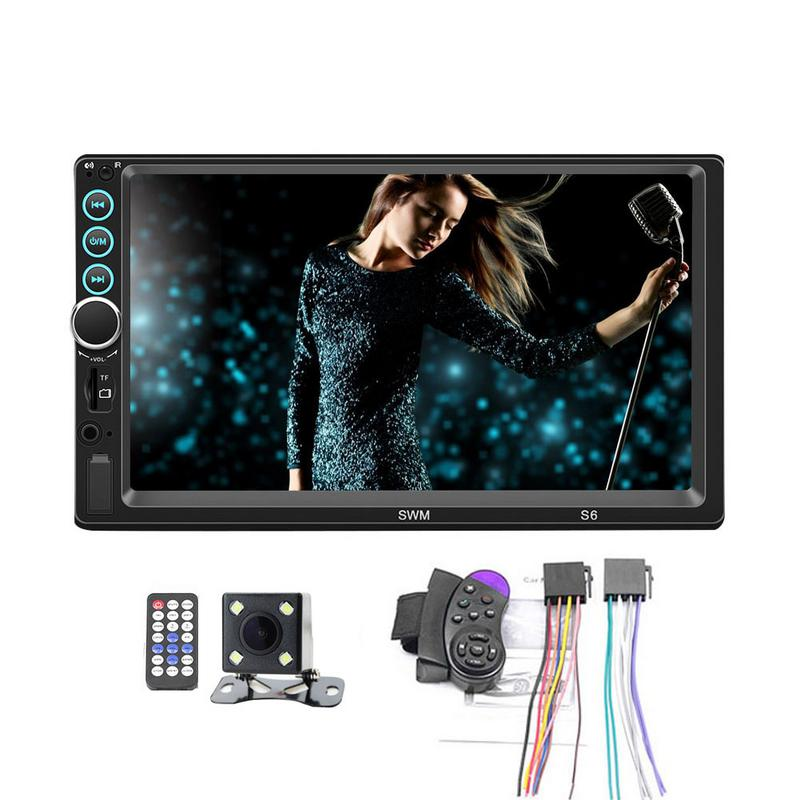 7 Inch Double 2 DIN Car MP5 MP3 Player Bluetooth Touch Screen Stereo Radio Camera  Player support for Androidand for IOS system7 Inch Double 2 DIN Car MP5 MP3 Player Bluetooth Touch Screen Stereo Radio Camera  Player support for Androidand for IOS system