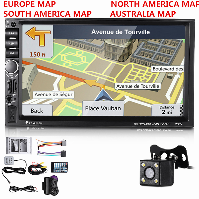 Universal 2 din Car Multimedia Player Autoradio 2din Stereo 7 Touch Screen Video MP5 Player Auto Radio Backup Camera With MapUniversal 2 din Car Multimedia Player Autoradio 2din Stereo 7 Touch Screen Video MP5 Player Auto Radio Backup Camera With Map
