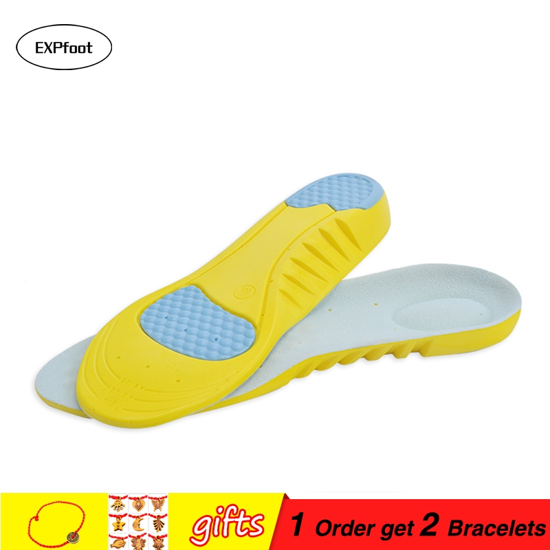 EXPfoot Sports Insoles Shoes Pad Gel Orthopedic Absorb Sweat Breathable Deodorant Military foot pad Insole heel spur Women/Men 1EXPfoot Sports Insoles Shoes Pad Gel Orthopedic Absorb Sweat Breathable Deodorant Military foot pad Insole heel spur Women/Men 1