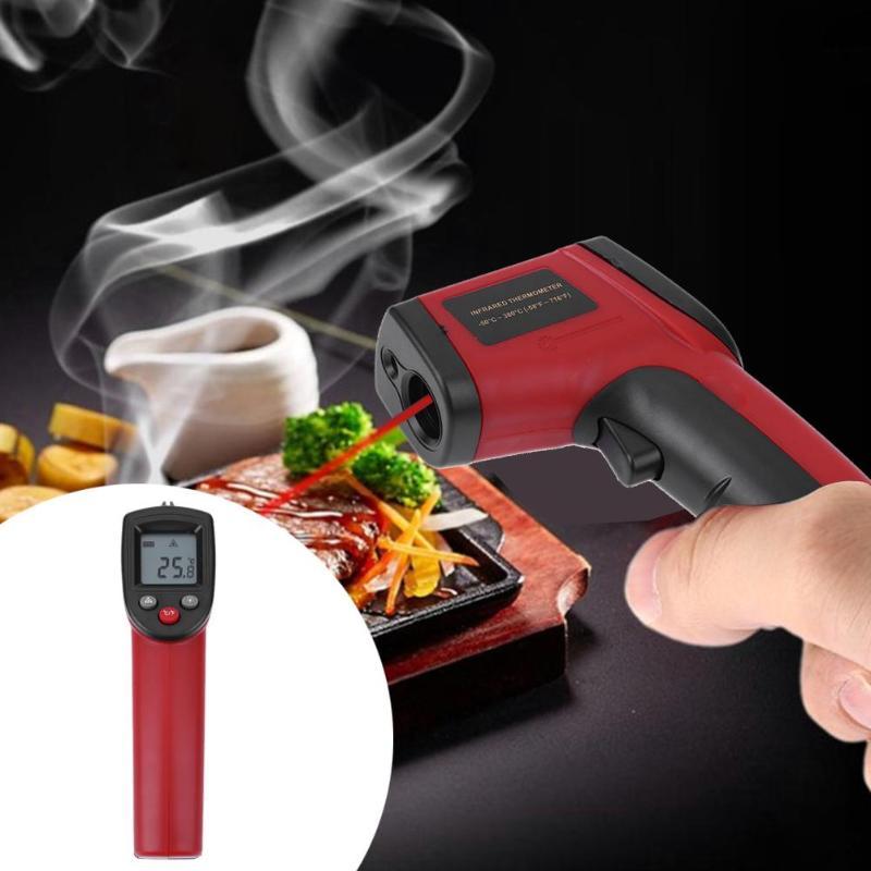 GM320 Digital de mano inteligente termómetro infrarrojo no contacto pirómetro IR punto láser pistola instrumentos de temperatura