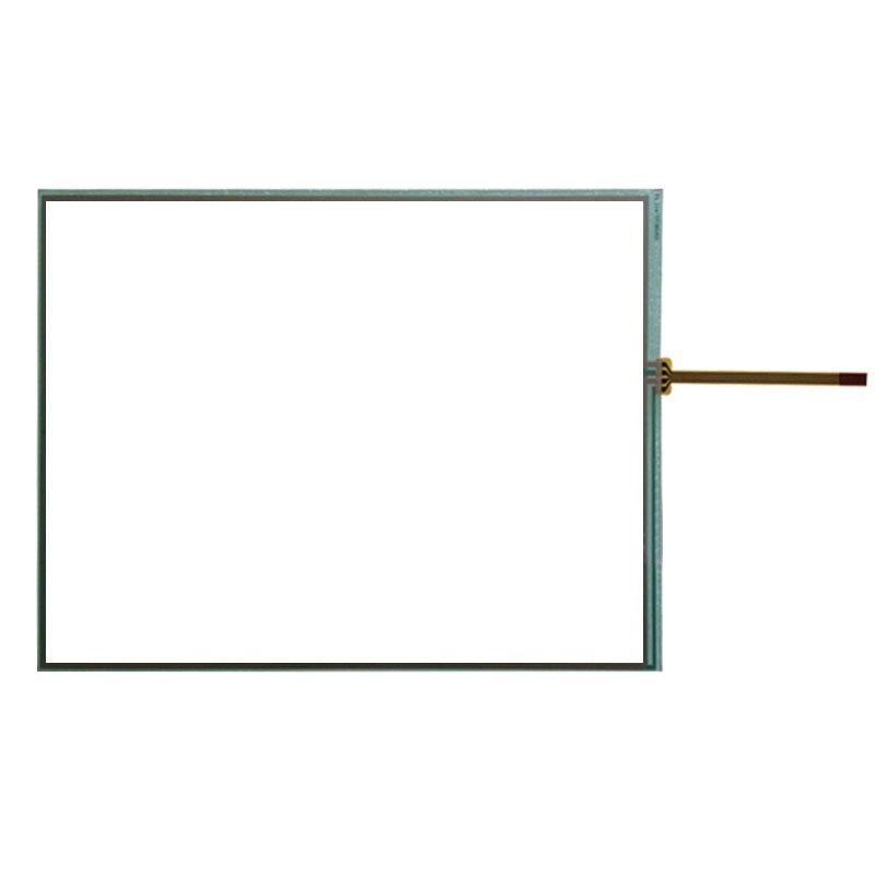 Original para mitsubishi monitor de vidro sensor do painel da tela toque GT1675-VNBA GT1675-VNBD digitador substituição resistiva