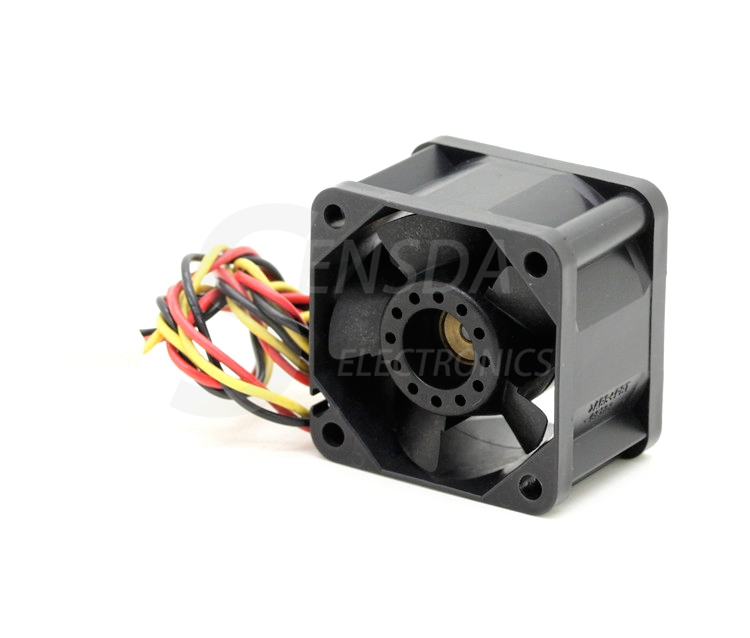 SANYO 109P0412J3123 4CM 40mm DC 12V 0.35A 4028 server inverter case axial cooling fans