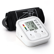 Household Fully Automatic Arm Band Type Digital Electronic Blood Pressure Meter Mini Size Lightweight Portable Sphygmomanometer недорого