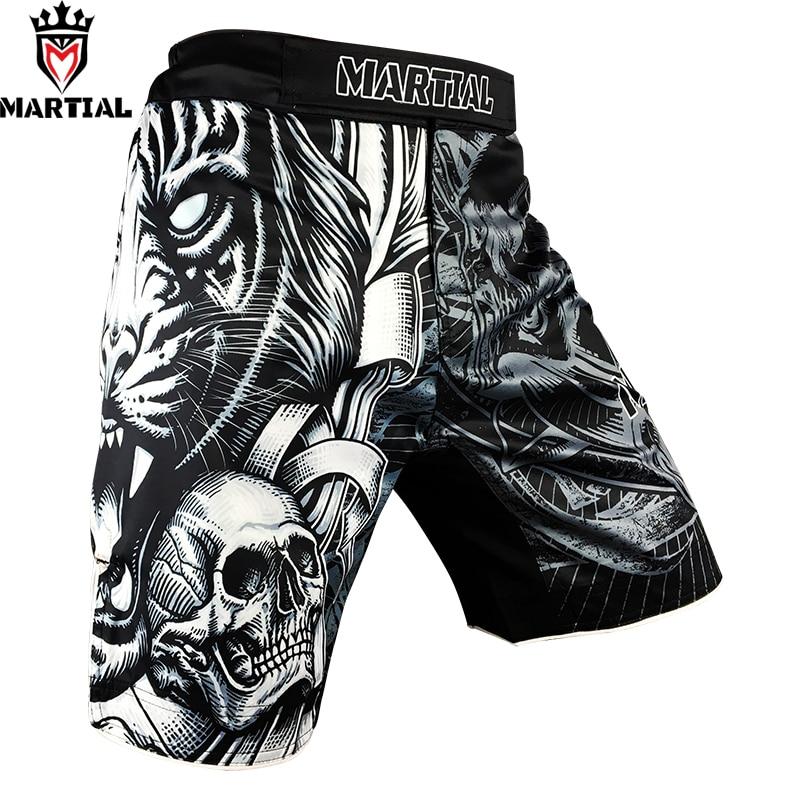 Martial The TIGER MMA shorts BOXING short mma four way stretch fitness shorts kickbox trunks training
