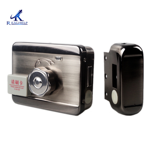 Image 3 - Electronically Controlled Unit Door Lock Induction Card Brushing and Magnetic Card Brushing Lock for Household Rental House
