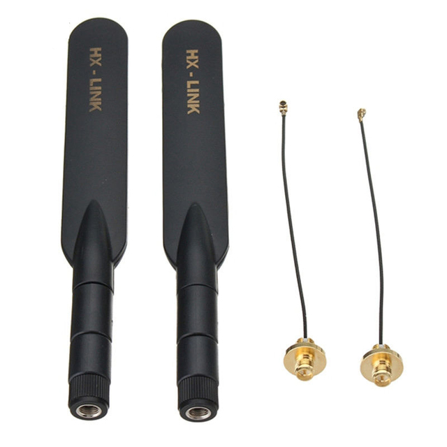 2 KM Booster Dual ความถี่ Omnidirectional ANTENNA Range Extender สำหรับ DJI Mavic 2/Air/Pro/ spark REMOTE CONTROLLER