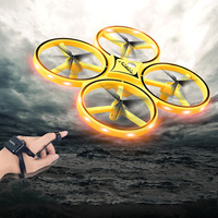 High Quality RC Helicopters Drones 2.4G Remote Control Watch Induction Quadcopter 4D Eversion Drone Dron Toys For Beginner Level