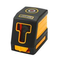 1H1V 635nm 5mw Mini Laser Level 2 Red Cross Line IP54 Lazer Nivel Diagnostic Tools Leveling Instrument