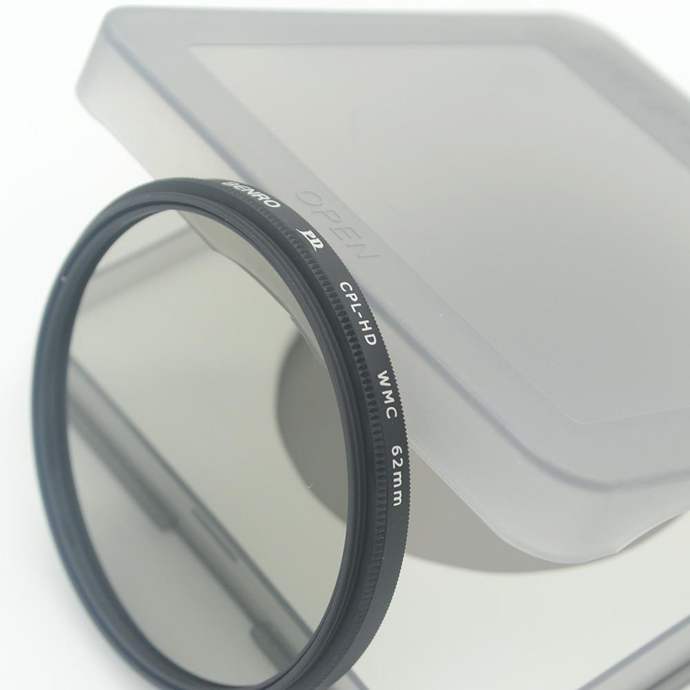 Benro PD CPL Filter PD CPL HD WMC Filters Waterdicht Anti olie Anti kras Circulaire Polarisator Filter Gratis Verzending-in Camerafilters van Consumentenelektronica op  Groep 3