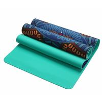 5mm Yoga Mat Non slip Soft Suede Yoga Pad Slimming Fitness Exercise Mat Indoor Sports Supplies Fitness Body Building Pilates Mat