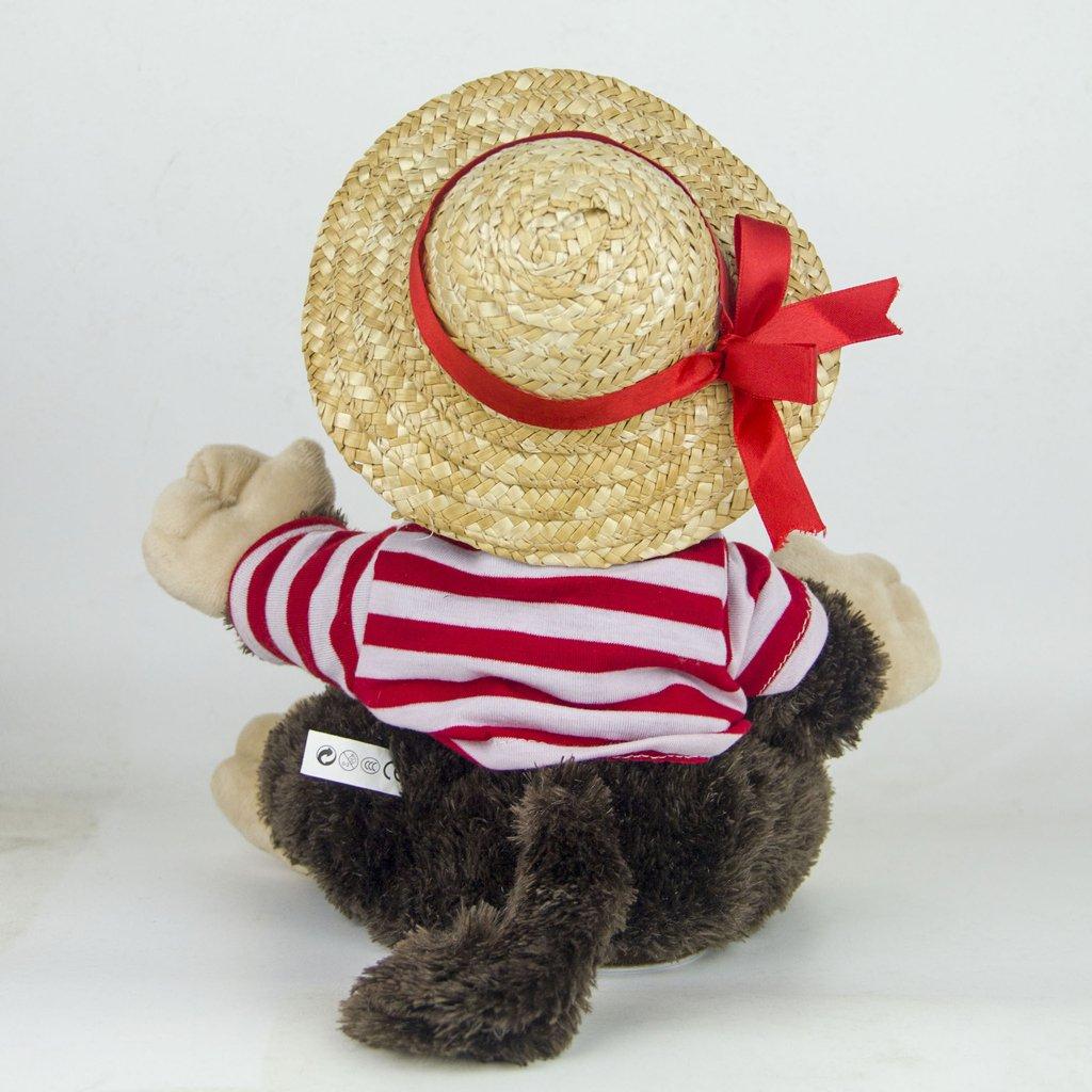 22cm Plush Monkey Doll Sing Swing Arm Home Decoration Educational Toys Birthday Gift for Baby Children Kids Toddler 5