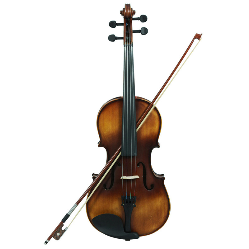 VA-30 Viola Retro Style Matte Vintage Rosewood Spruce With Bow & Rosin  Stringed Instruments Viola For Professional Performances