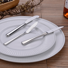 3pcs Stainless steel cheese knife, sauce spoon, butter sharp blade, retro Western dessert knife promotion