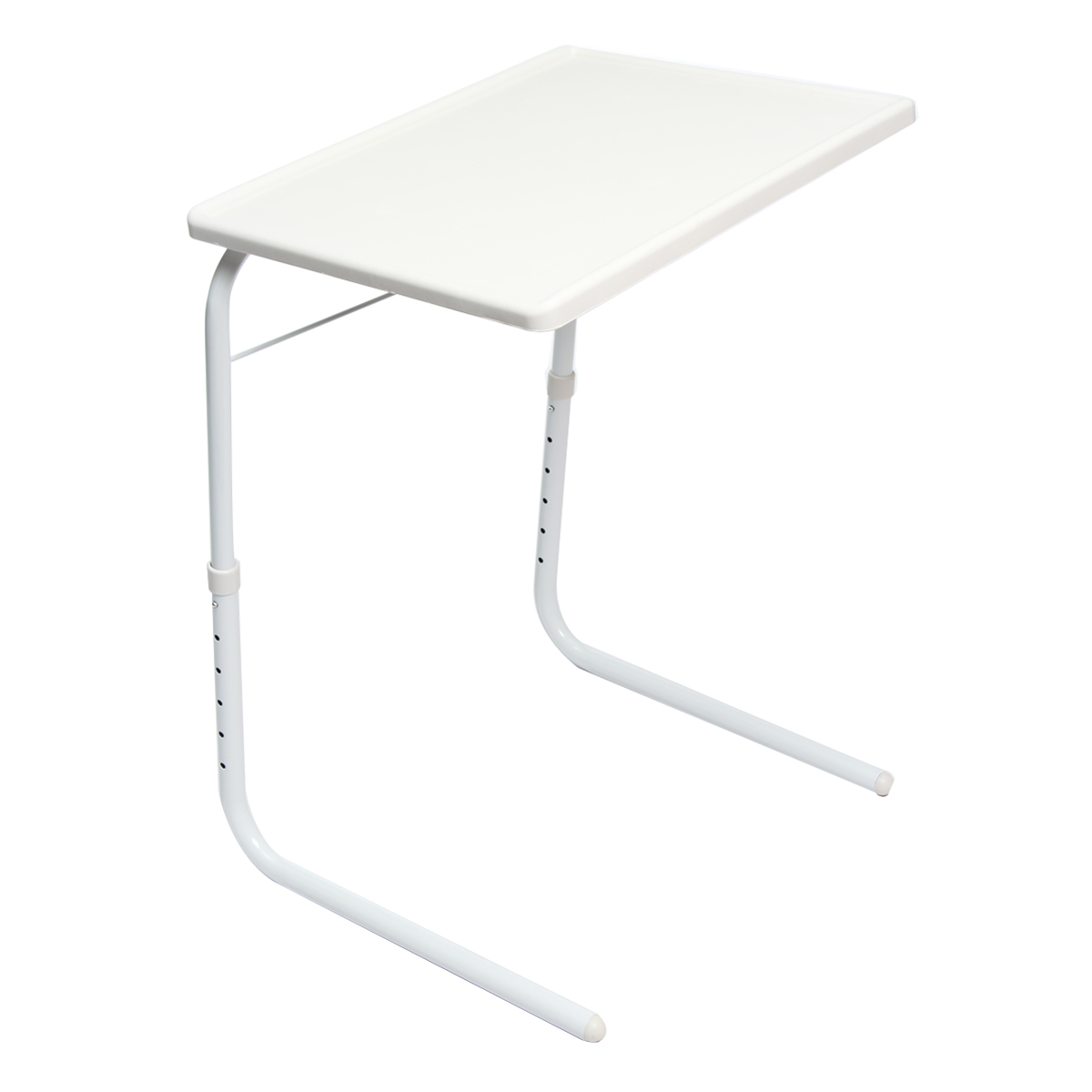 Adjustable Folding Table Dinner Coffee Laptop Table Mate Travelling Tray Tall 52x40x70cm Laptop Accessories Lapdesks