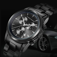 Top Brand Sport Men Watches 2019 luxury Stainless Steel Waterproof Watch Quartz Movement Wristwatches Business relogio masculino цена и фото