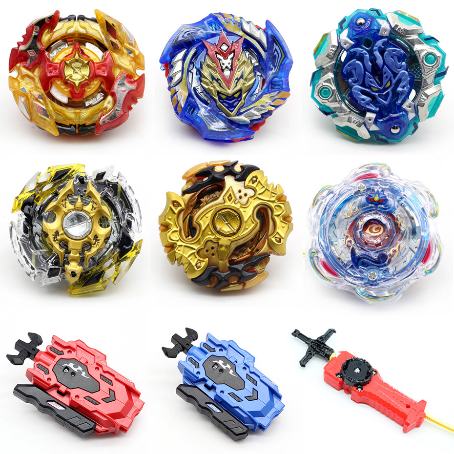 Gold Series Burst Beyblade Spinning Top Fight Toy Beyblade Only Without Launcher