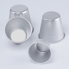 5pcs/lot optional size pastry pudding mold Decorating tool baking cups metal aluminum form mould,