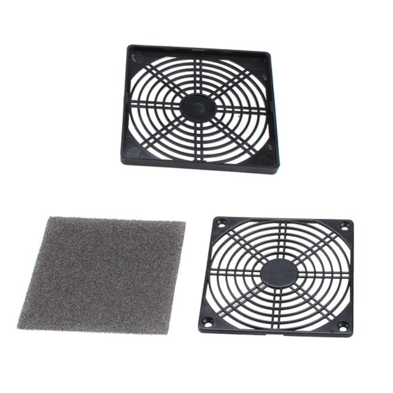 Aprensivo 12 Cm Enfriador De Ordenador Filtro De Polvo A Prueba De Polvo Malla Filtrable Pc Funda Ventilador Enfriador Esponja Filtro Protector De Polvo
