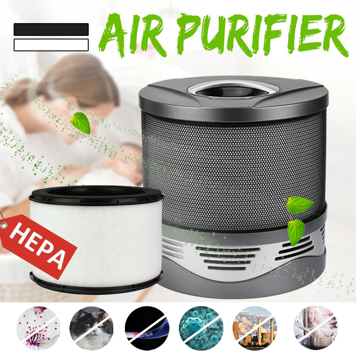 New Household Air Purifier Sterilizer Air Wash Cleaning Lonizer Cleaner with True HEPA Filter FormaldehydeSmoke Dust Odor RemoveNew Household Air Purifier Sterilizer Air Wash Cleaning Lonizer Cleaner with True HEPA Filter FormaldehydeSmoke Dust Odor Remove