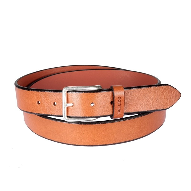 Belt Miguel Bellido 805/35 0041/07 light brow ремень miguel bellido miguel bellido mi070dmahik9