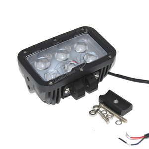Image 5 - 2pcs 60W LED work light cannon driving super spotlight day maker for 4x4 offroad pick up trucks tractors headlamps