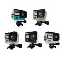 4K Touch Screen Action Camera WIFI Dual Screen 12MP 30m Waterproof DV 170 Degree Wide Angle Lens Sport Cam