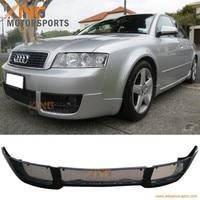 Fits 02 04 Audi A4 B6 V Style Front Bumper Lip Spoiler Bodykit PU