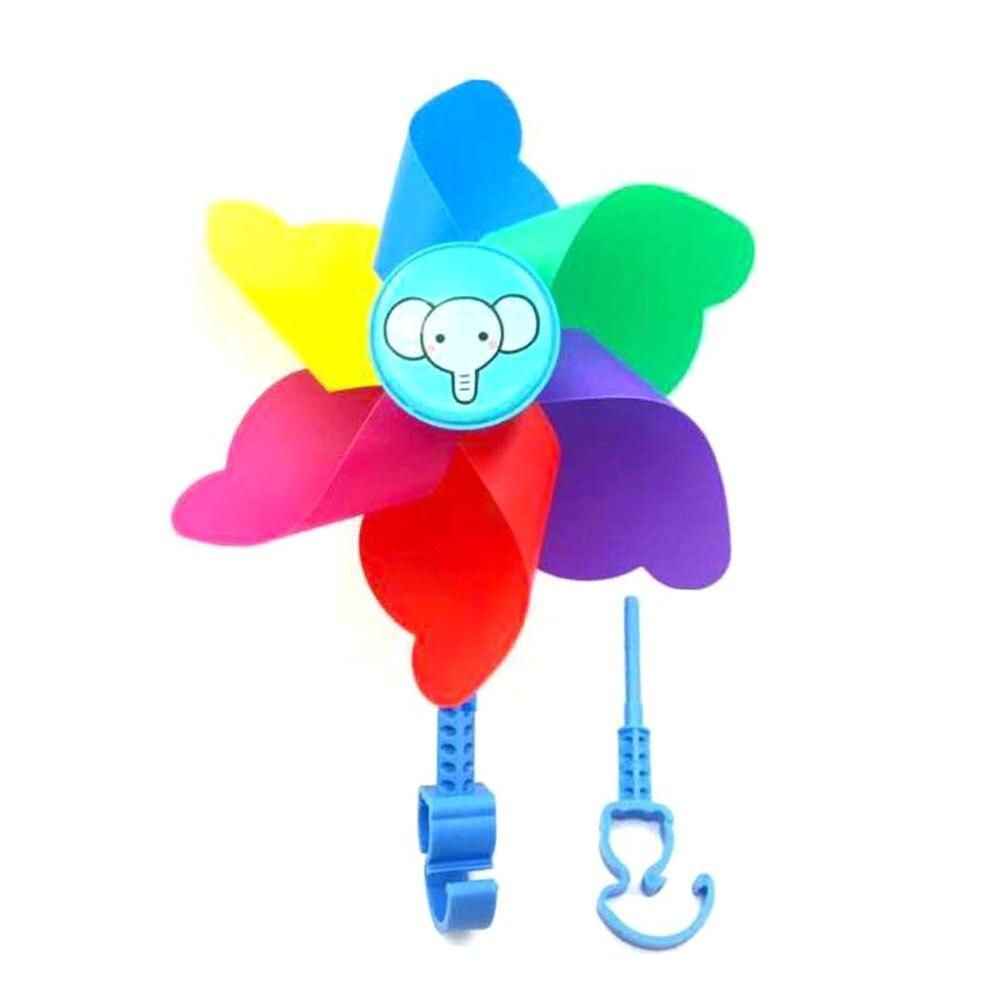 Butterfly Flower Windmill Colourful Wind Spinner Garden Yard Decor Kids T M