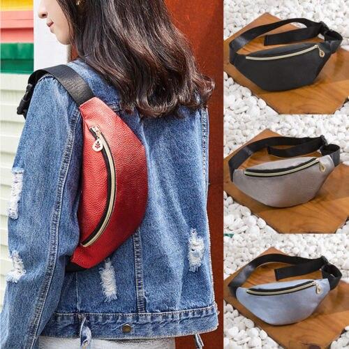 Fashion New Women PU Waist Pack Femal Belt Bag Phone Pouch Bags Brand Design Women Envelope Bags for Ladies Girls