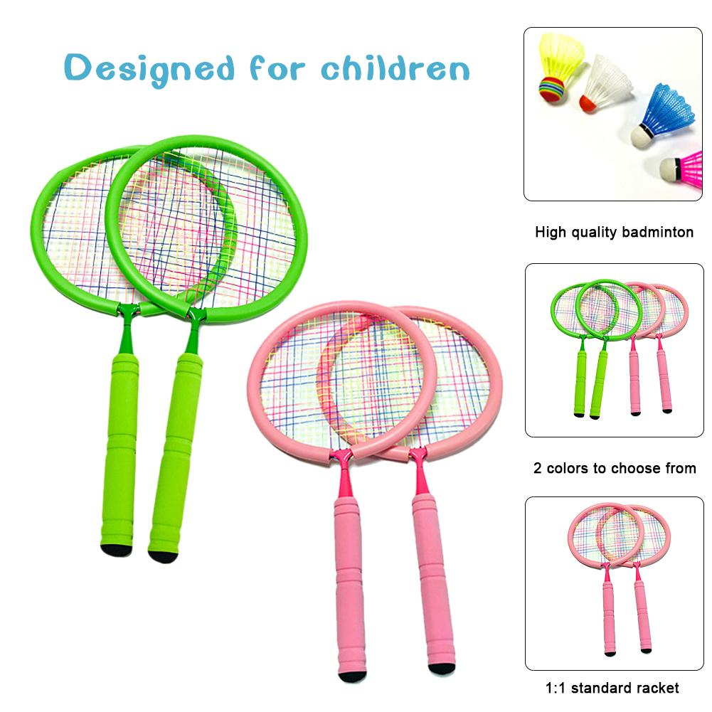 Junior Tennis Racket For Kids Toddlers Starter Racket Badminton Racket Learn Faster And Play Better Suitable Age 3 15 Years Old