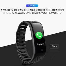 Z6 Heart Rate Monitor IP68 Waterproof Fitness Tracker Smart Band Bracelet USB Direct Charging Three-axis Acceleration Sensor(China)