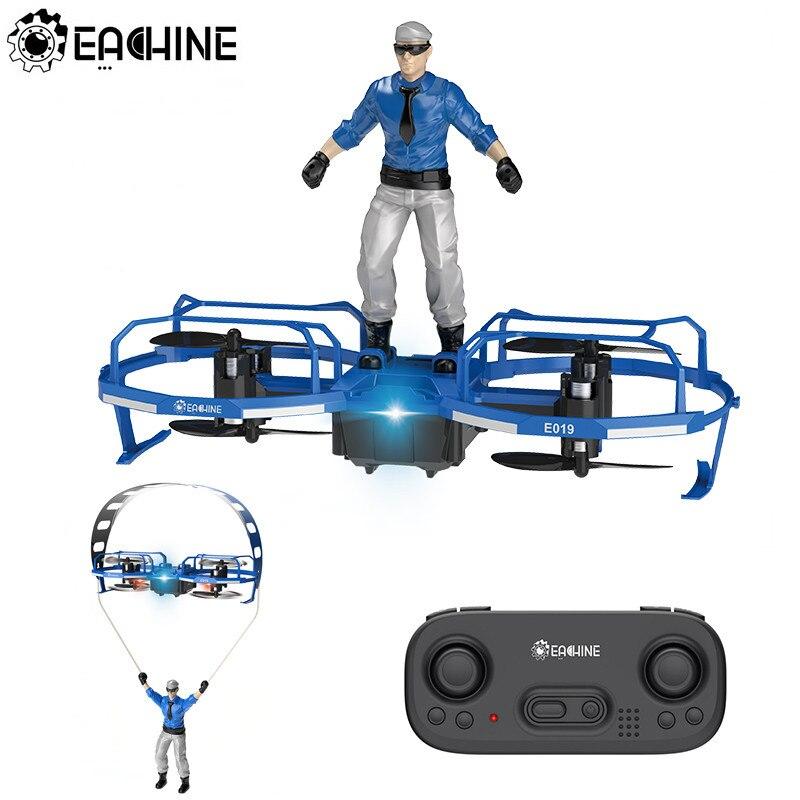 Eachine Drone Mini Quadcopter Stunt-Paraglider Altitude Flight-Mode RC RTF E019 2-Axis
