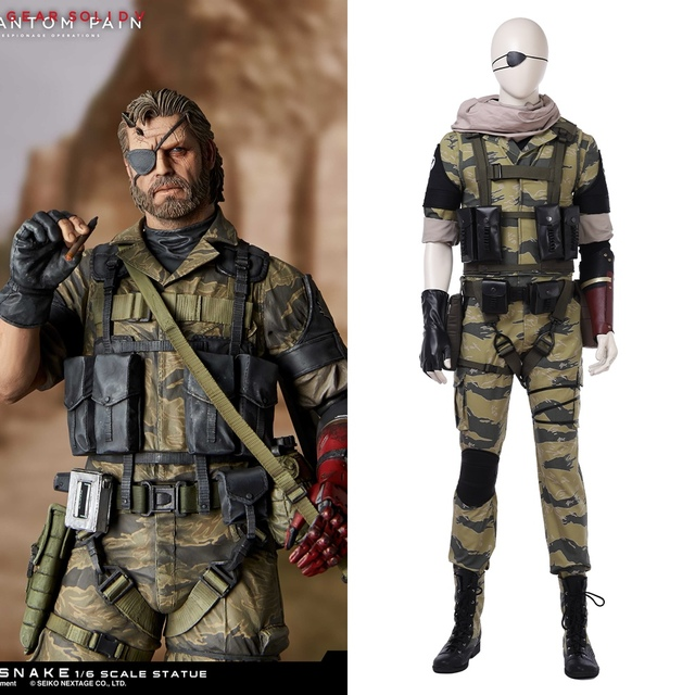 Metal gear solid cosplay costume
