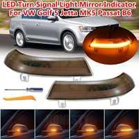 LED Side Wing Rearview Mirror Indicator Blinker Repeater Light Turn Signal For Volkswagen for VW GOLF 5 for Jetta MK5 Passat B6