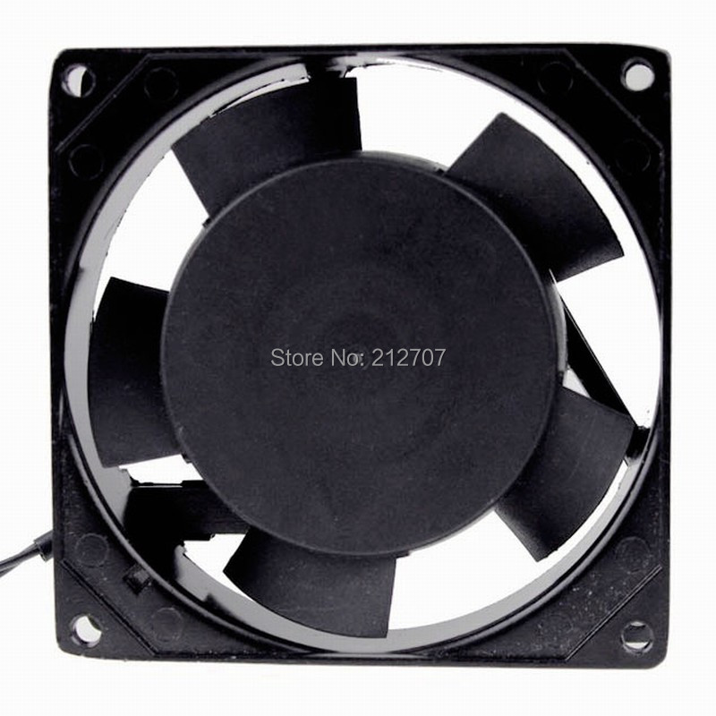 Gdstime 90MM 220V 240V AC Cooling Fan 9cm 92mm x92mmx 25mm Ball Bearing Balck Metal Industrial Axial Fan in Fans Cooling from Computer Office