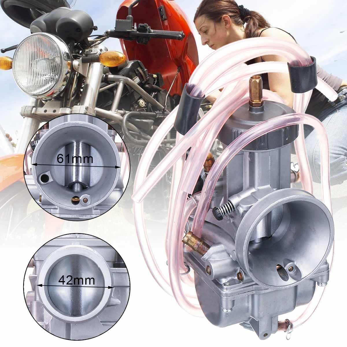 Carburateur de PWK de 36mm pour Honda pour le carburateur de pièces d'alimentation de carburant de moto de moteur de Suzuki pour Kawasaki pour le Scoote de moto de saleté de Yamaha