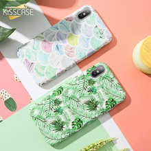 KISSCASE Colorful Patterned Case For iPhone 7 7 Plus Hard PC Phone Case For iPhone X XS Max Xr 8 6 6s Plus Back Cover Funda Capa стоимость